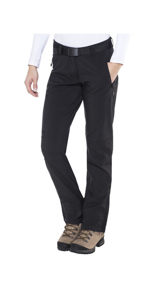 Maier Sports Tech lange broek Dames zwart